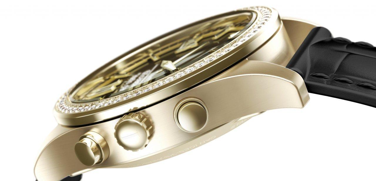 Perfil del reloj inteligente Isaac Mizrahi
