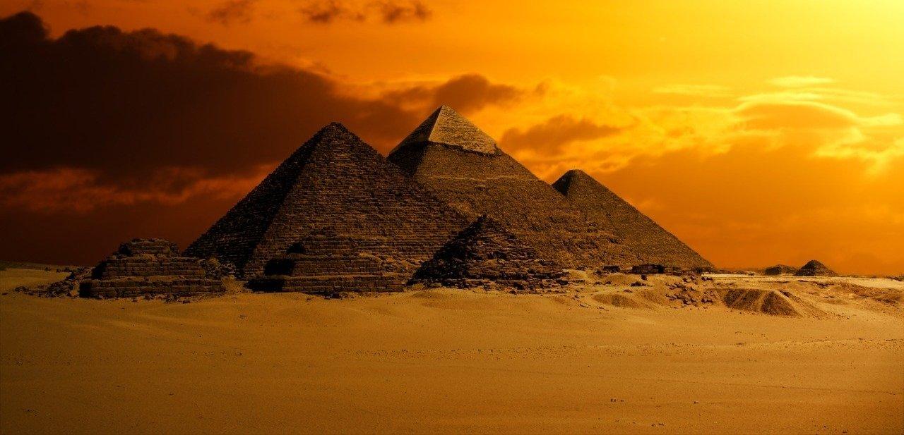 Pirámides en El Cairo