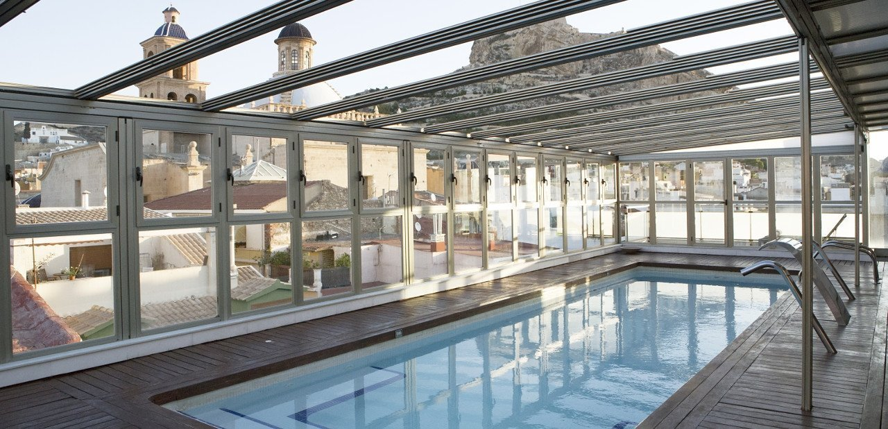 Piscina del Hotel Hospes Amérigo