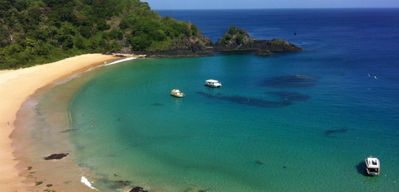 Playa Baia do Sancho, Fernando de Noronha (Brasil)