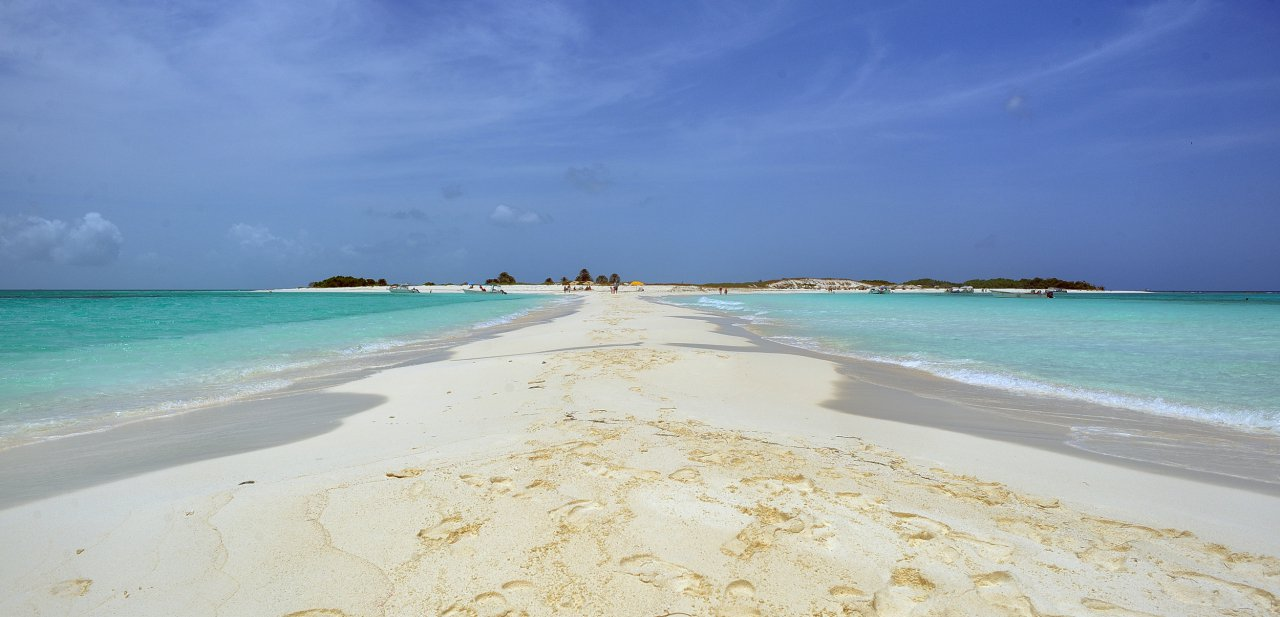 Playa Cayo de Agua, Parque Nacional Los Roques (Venezuela)