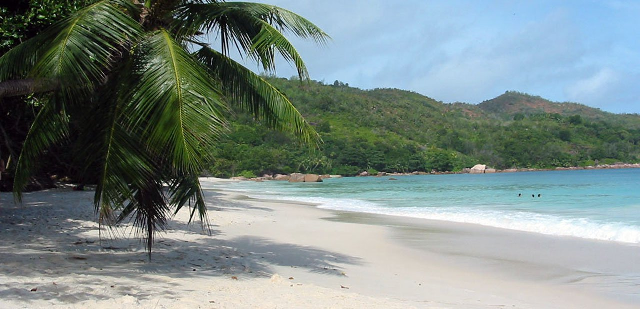 Playa de Anse Lazio, Isla de Praslin (Seychelles)