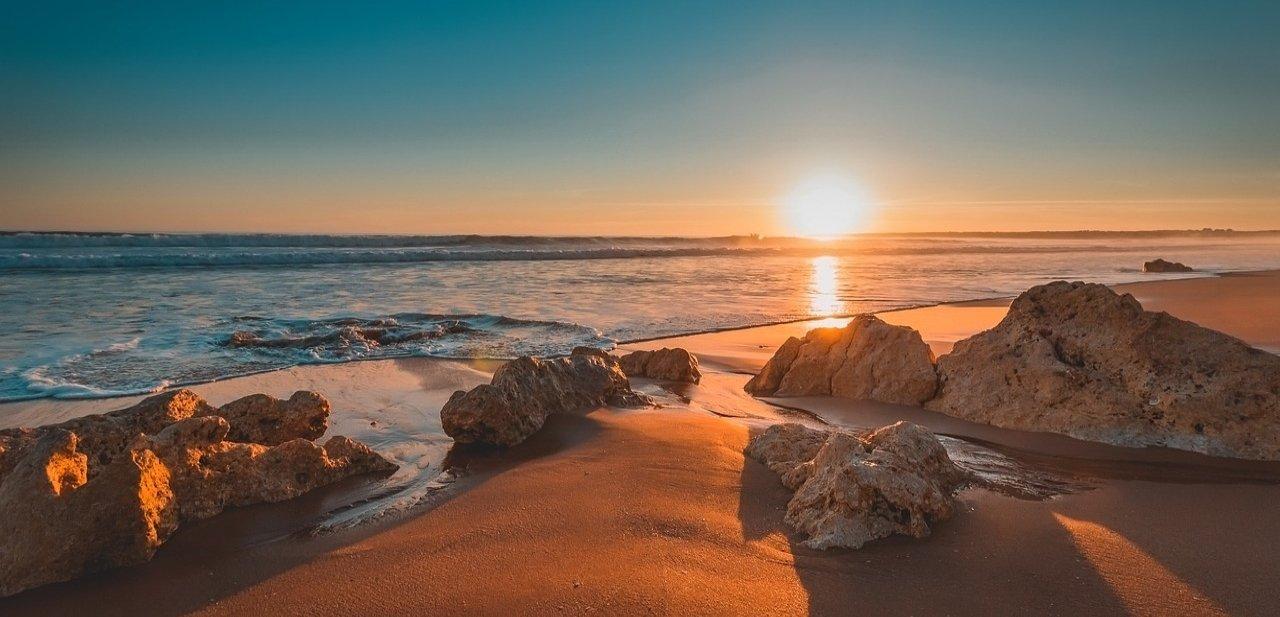 Playa en el Algarve