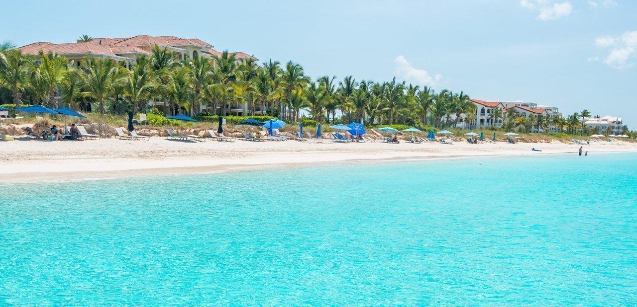 Playa Grace Bay, Providenciales (Islas Turcas y Caicos)