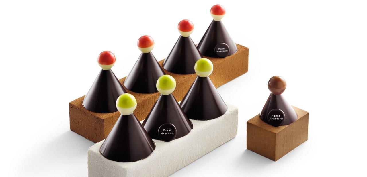 Postres de chocolate de Pierre Marcolini