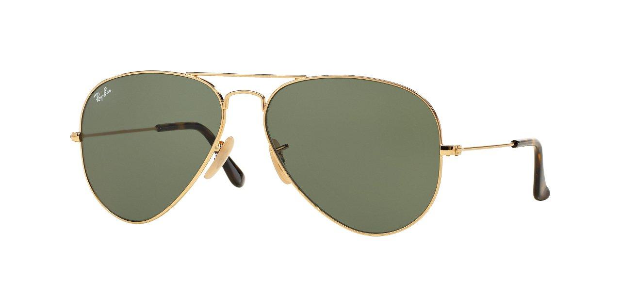 gafas ray ban aviator luxottica