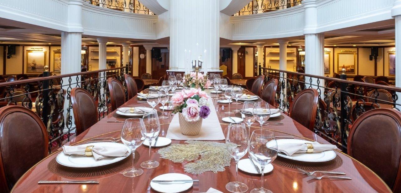 Restaurante del Golden Horizon