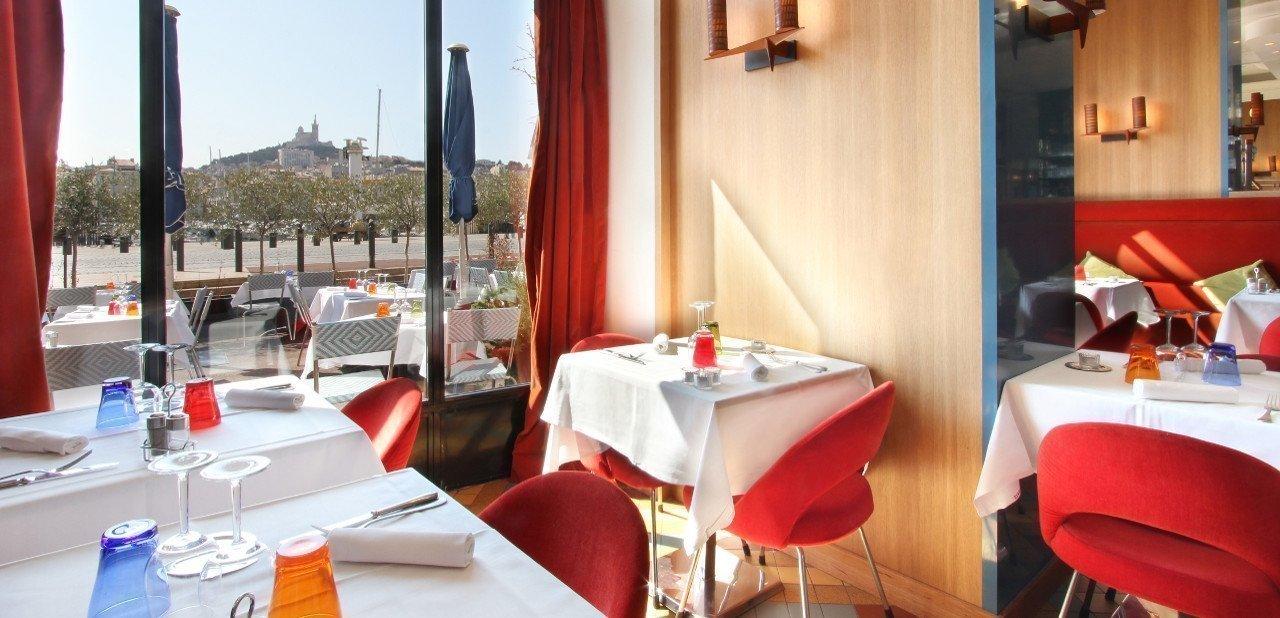 Restaurante del Hotel La Résidence Du Vieux Port