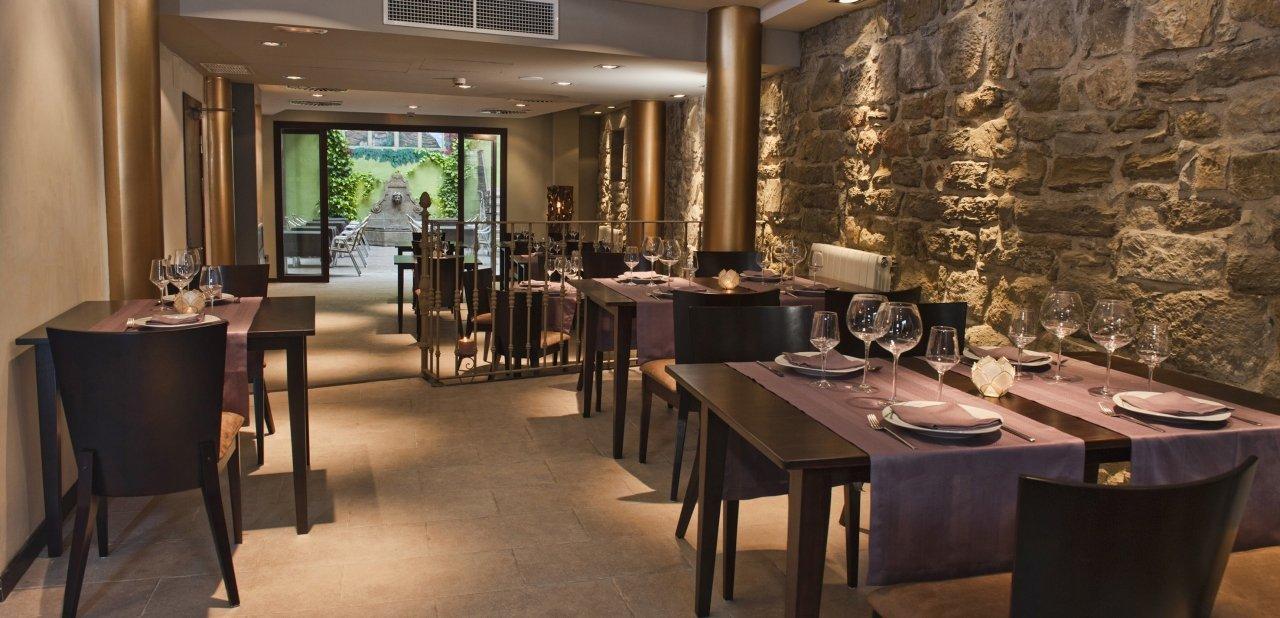 Restaurante El Criticón en el Hotel Palacio del Obispo