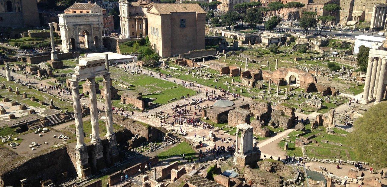 Restos arqueológicos visitables en Roma