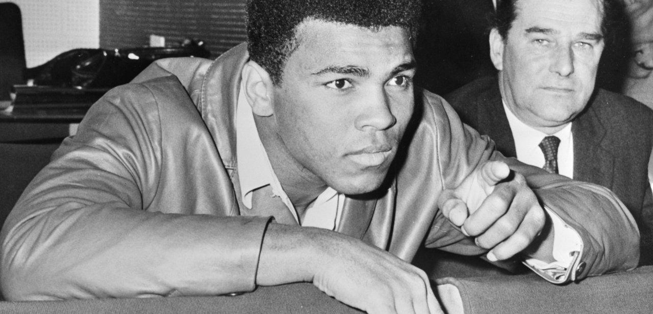 Retrato de Muhammad Ali