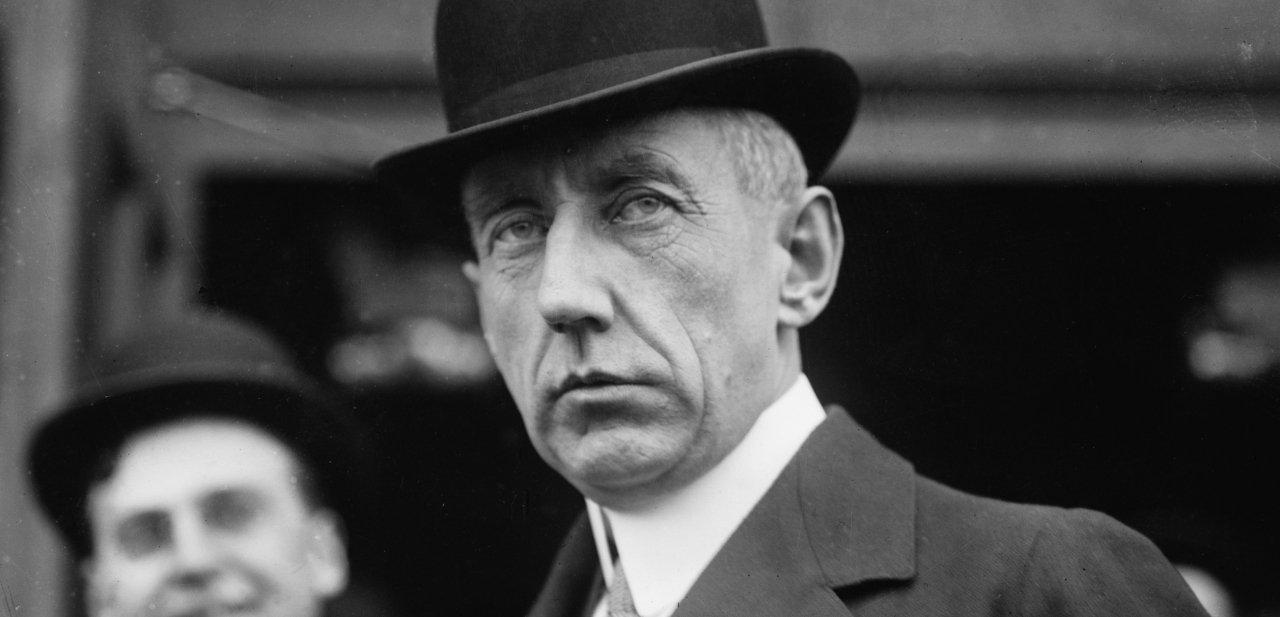 Retrato de Roald Amundsen