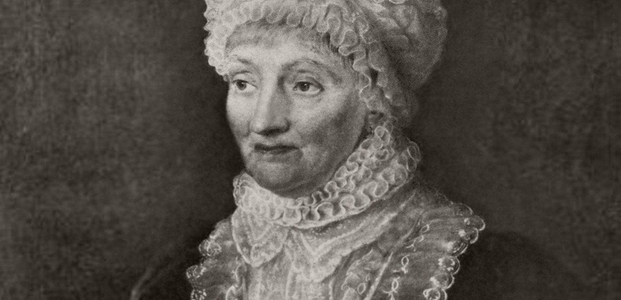 Retrato de una joven Carolina Herschel