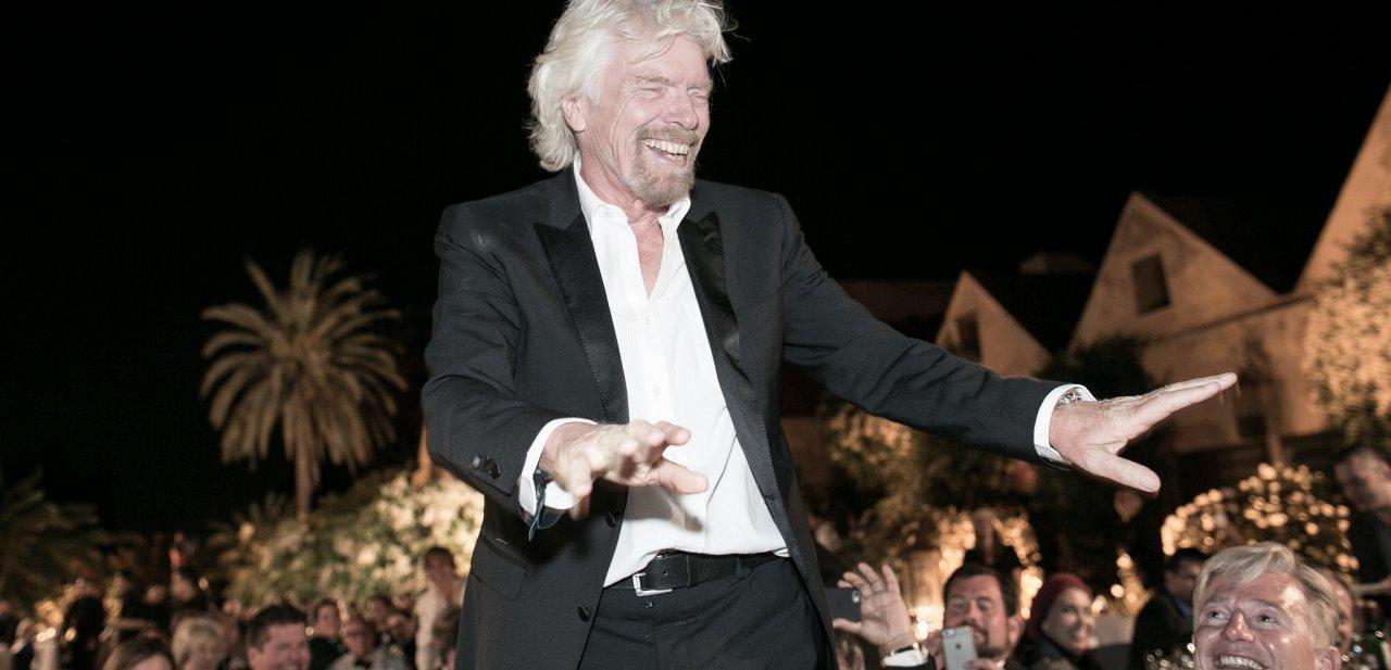 Richard Branson en un evento público