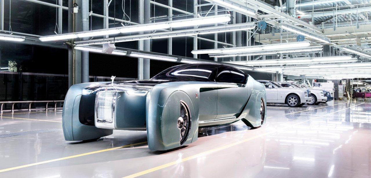 Rolls-Royce 103EX en la factoría
