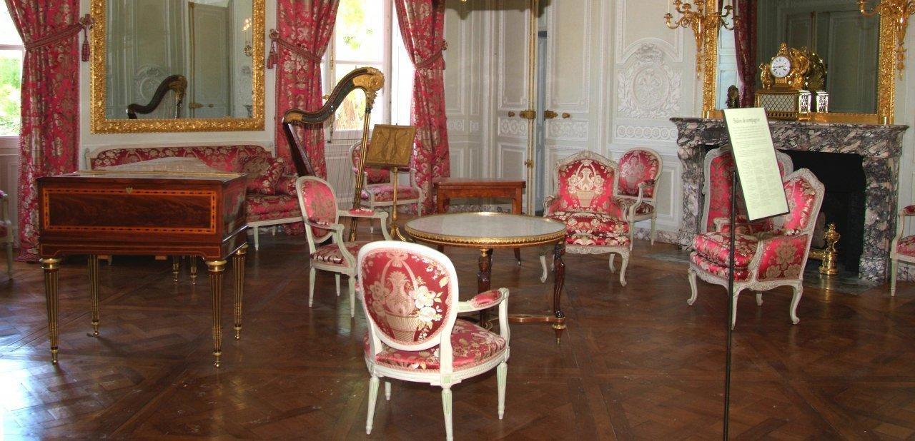 Sala de música en Le Petit Trianon