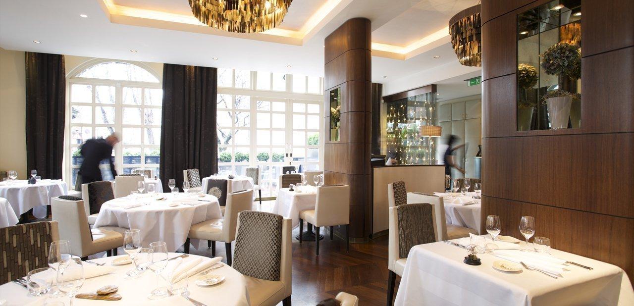 Sala del restaurante The Ledbury
