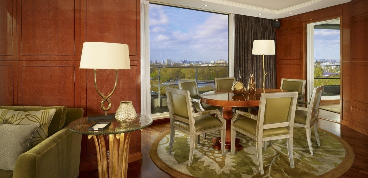 Salón del penthouse en The Park Tower Knightsbridge