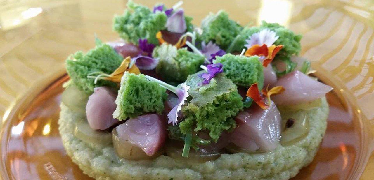 Sashimi de caballa de El Baret de Miquel Ruiz