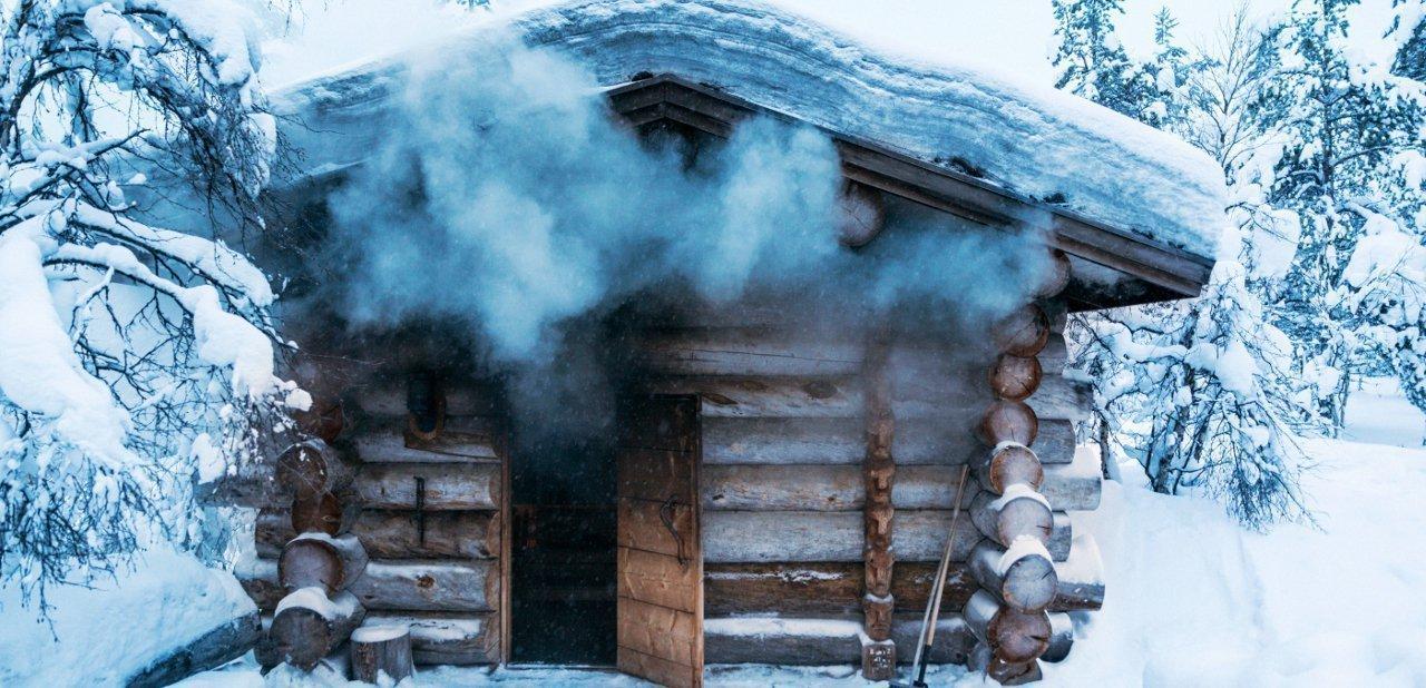 Sauna de humo