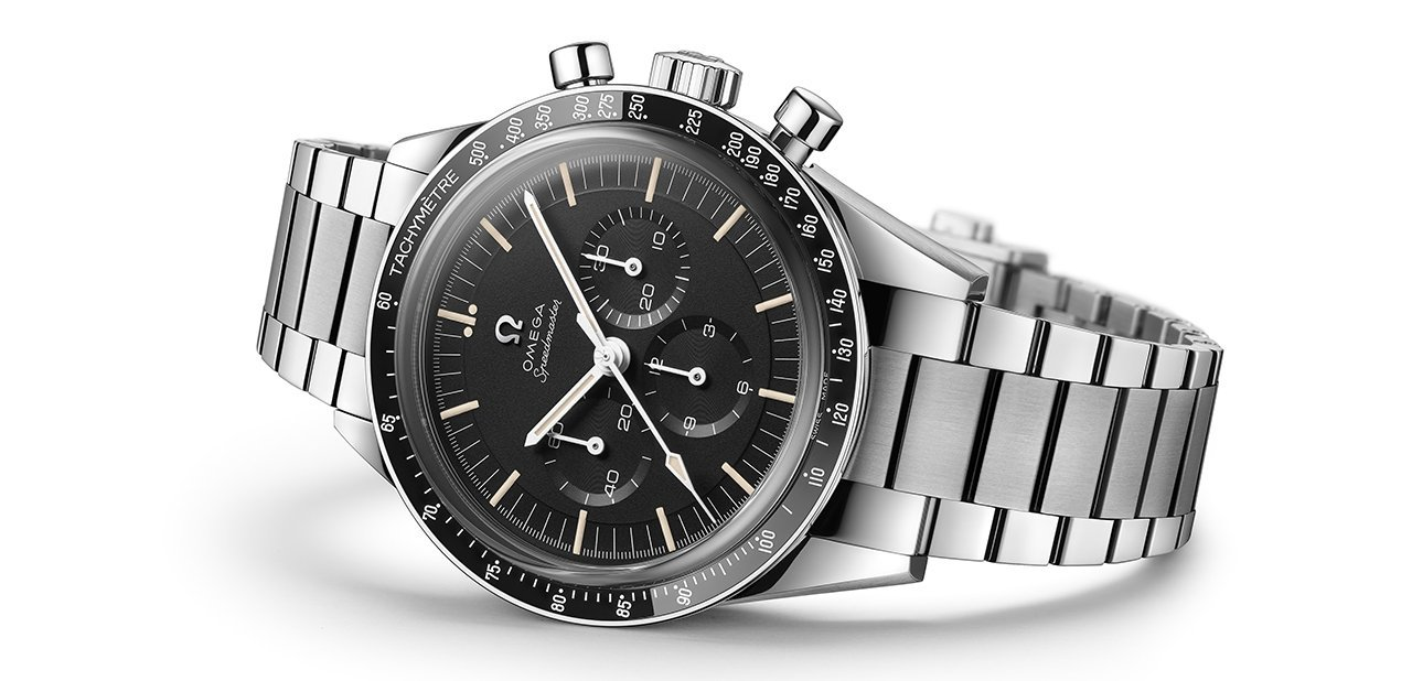 Speedmaster Moonwatch tumbado silver