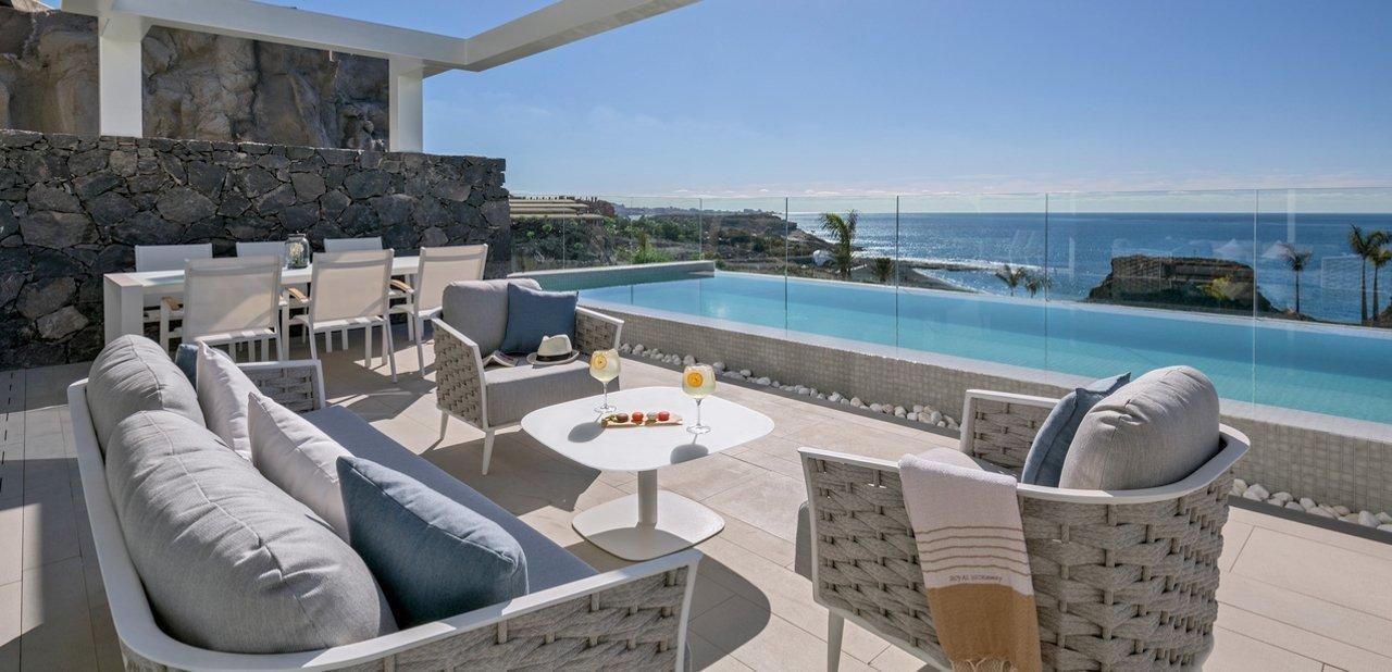 Suite con terraza y piscina privada