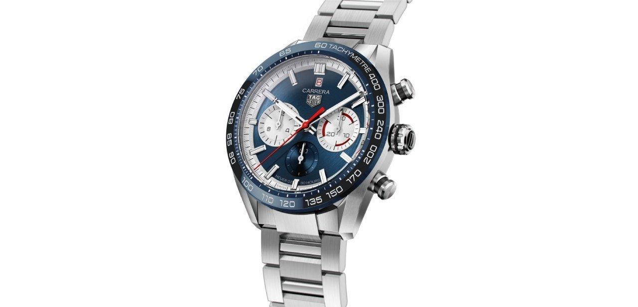 TAG Heuer Carrera Sport Chronograph Special Edition esfera azul