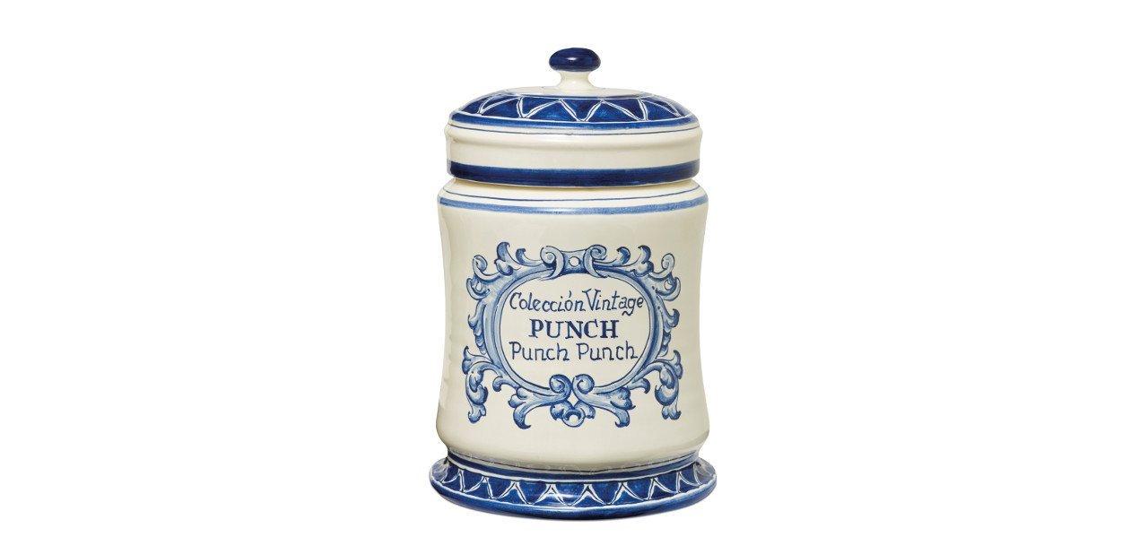 Tarro cerámico para la colección vintage Punch