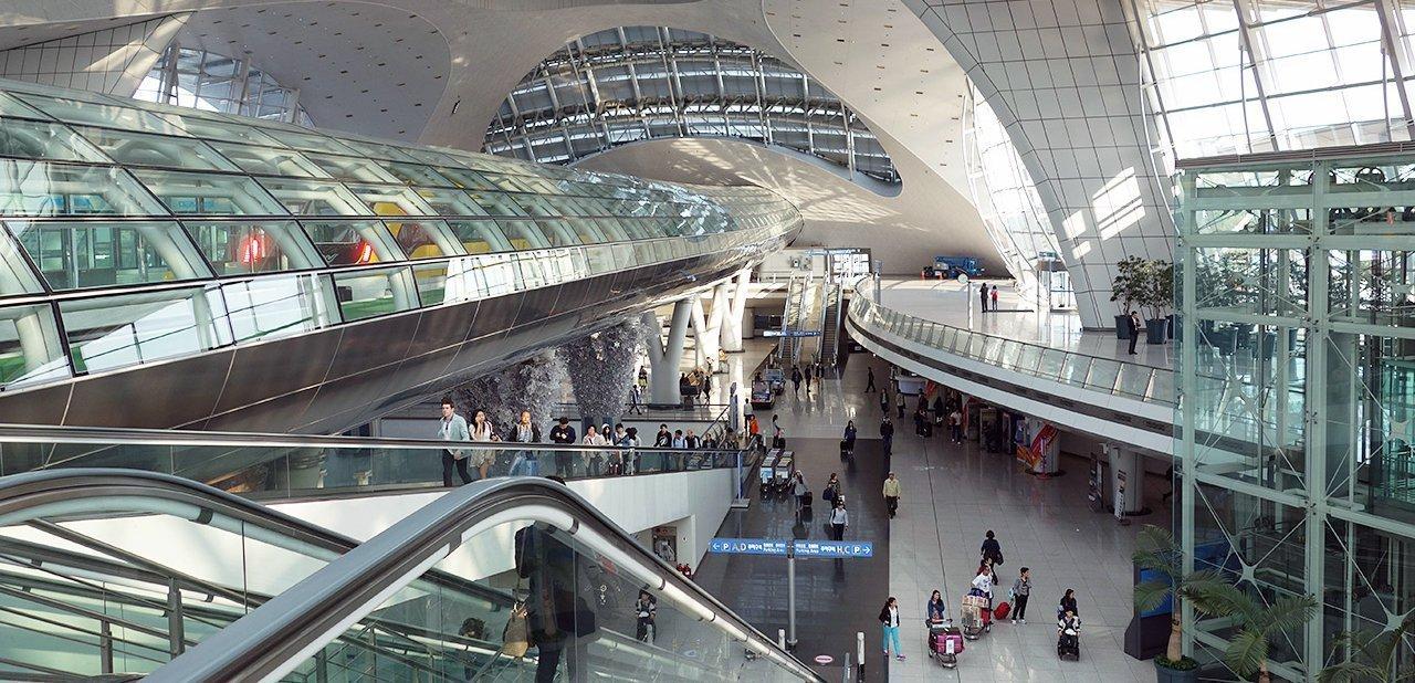 Terminal del tren del Aeropuerto Internacional de Incheon