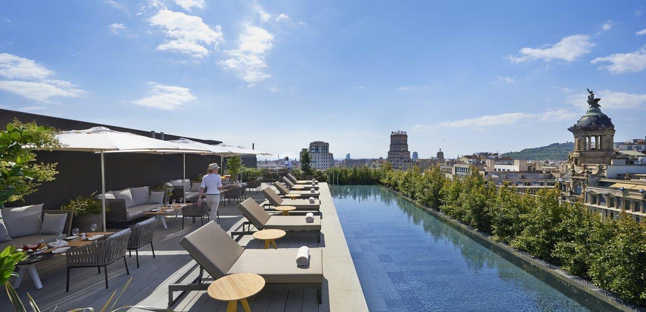Terrat, la terraza de Mandarin Oriental Barcelona
