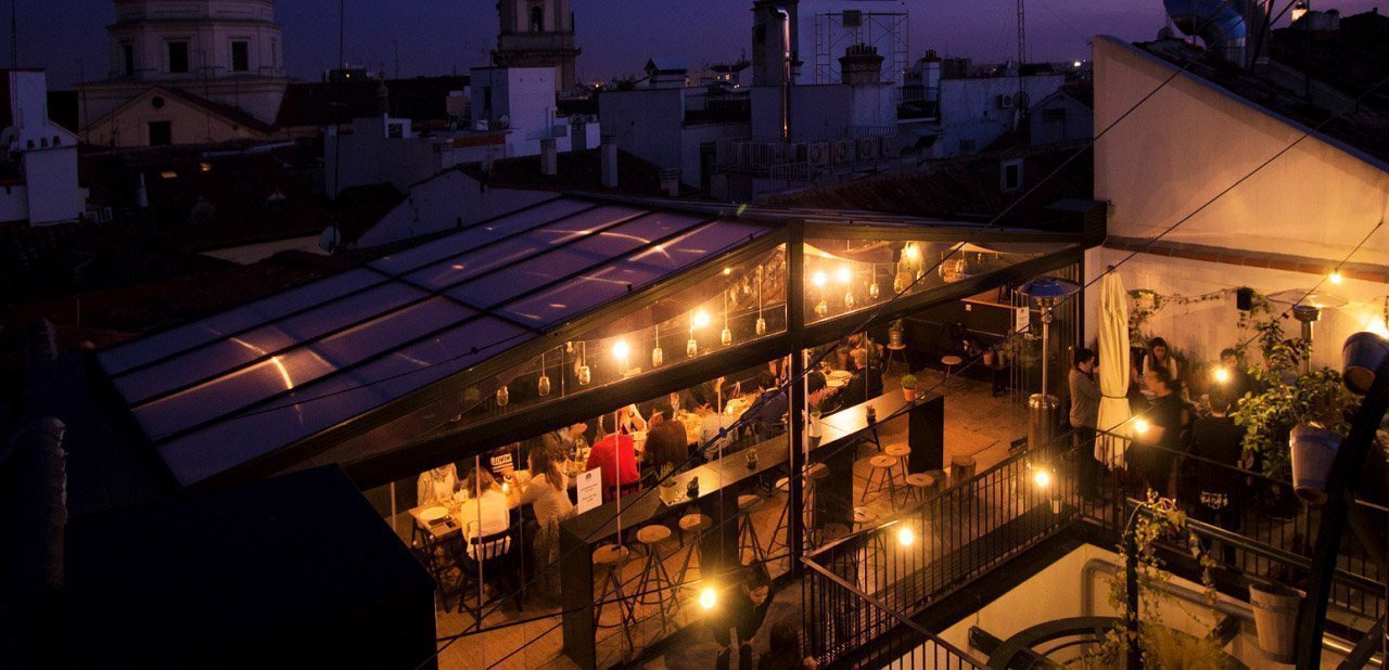 Terraza de The Hat Madrid