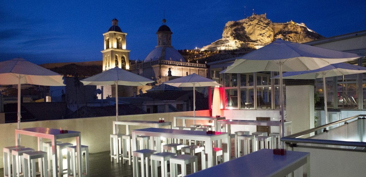 Terraza del Hotel Hospes Amérigo