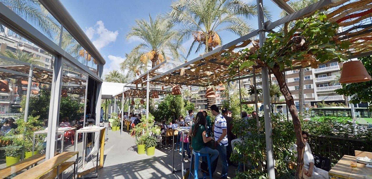 Terraza del Mercado Victoria de Córdoba