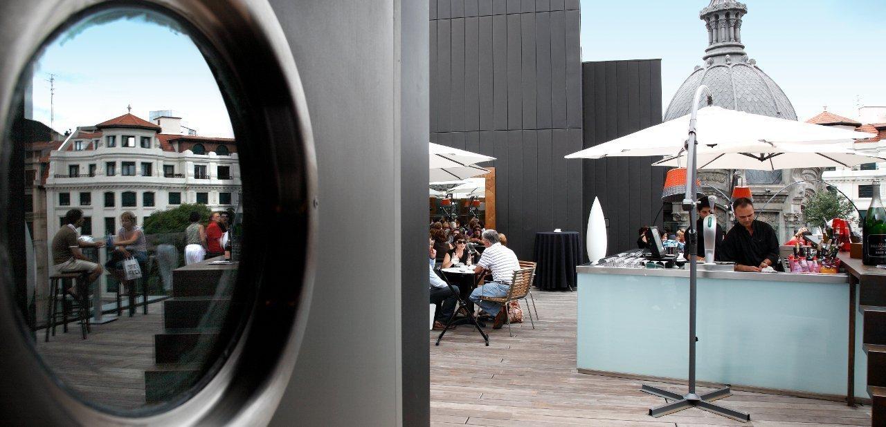 Terraza del restaurante Yandiola, Bilbao