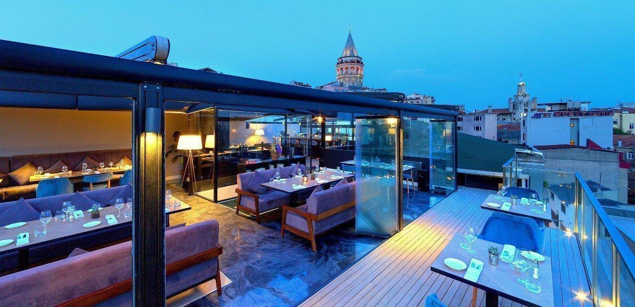 Terraza del Walton Hotels Galata