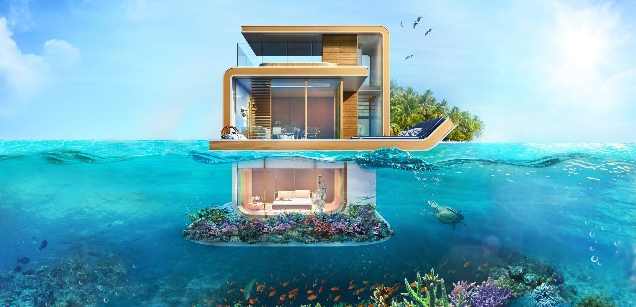The Floating Seahorse, una casa bajo el mar, Thoe
