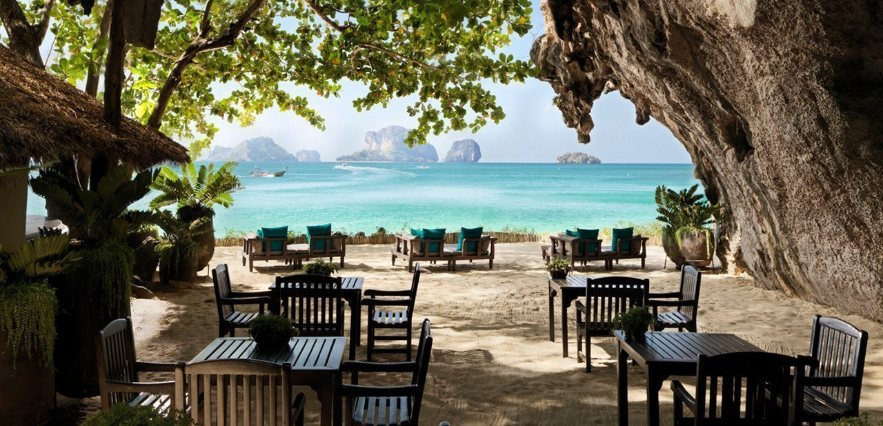 The Grotto en el Rayavadee Krabi