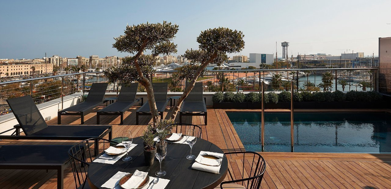 The Rooftop en The Serras, Barcelona
