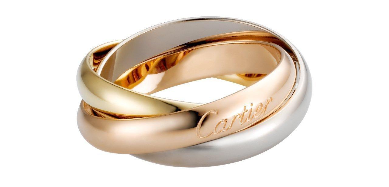 Trinity de Cartier sortija clásica