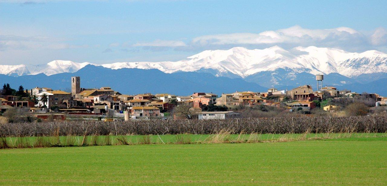Ultramort, uno de los pueblos cercanos a Encís d'Empordà