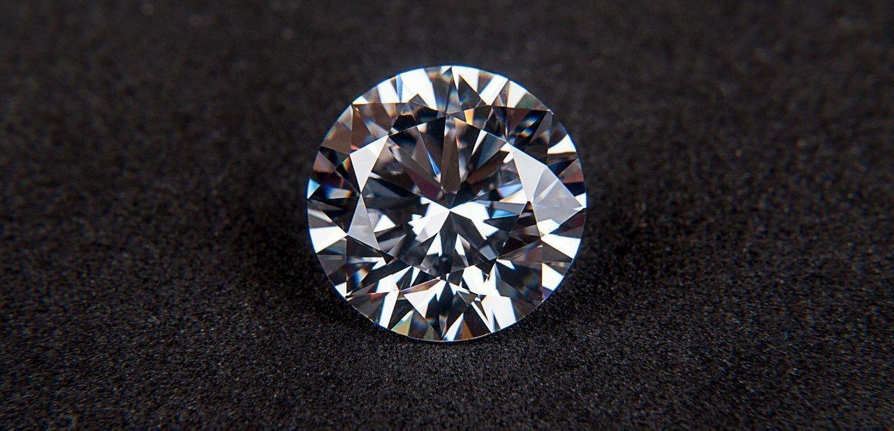 Un diamante en detalle