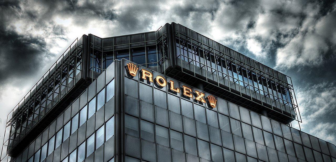 Un edificio de Rolex