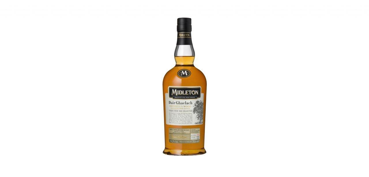 Una botella del whisky Midleton Dair Ghaelach