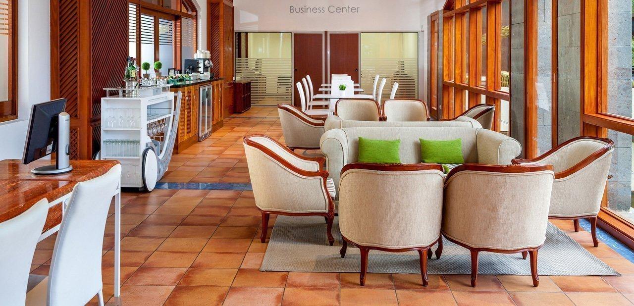 Una de las estancias del hotel Meliá Tamarindos