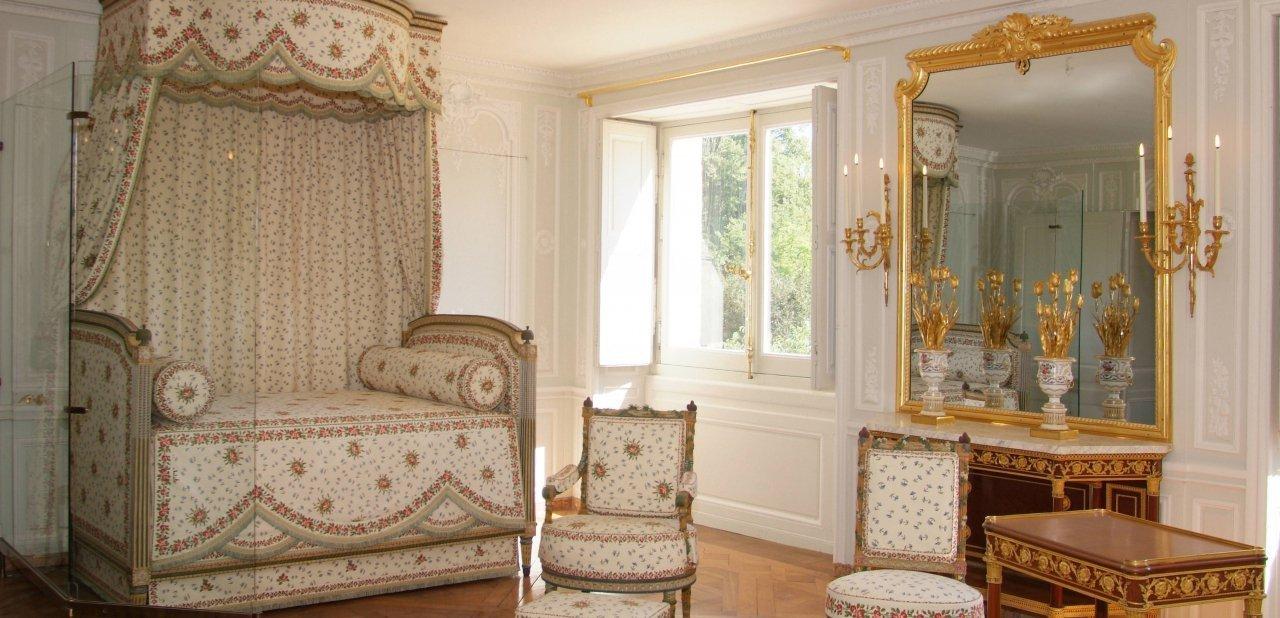 Una de las estancias del palacete neoclásico de Maria Antonieta