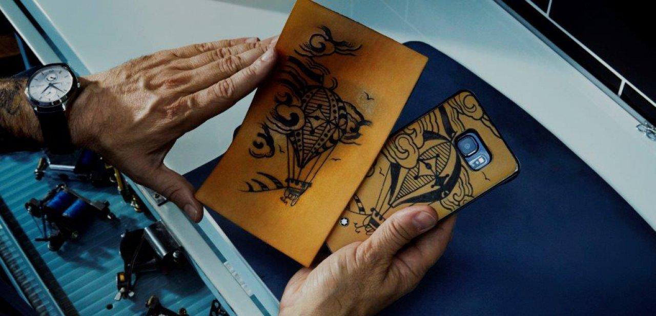 Una de las Montblanc Tattoo