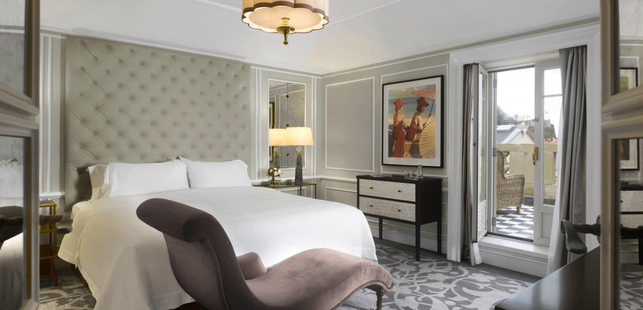 Una habitación del hotel María Cristina de San Sebastián