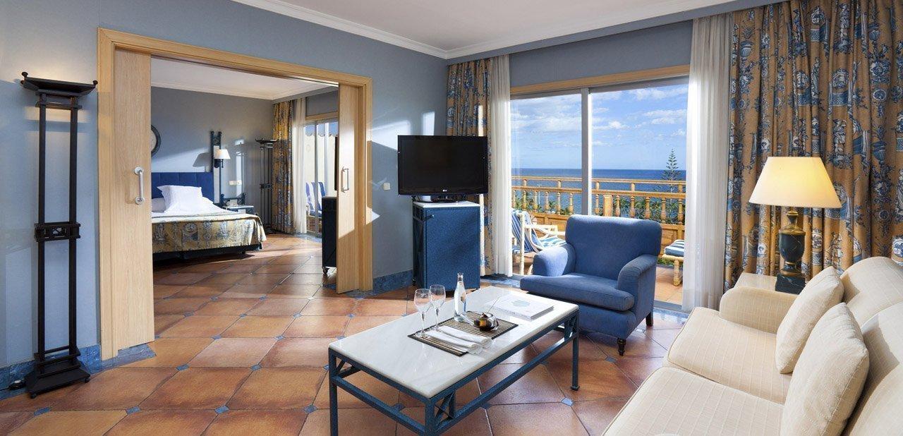 Una junior suite del hotel Meliá Tamarindos