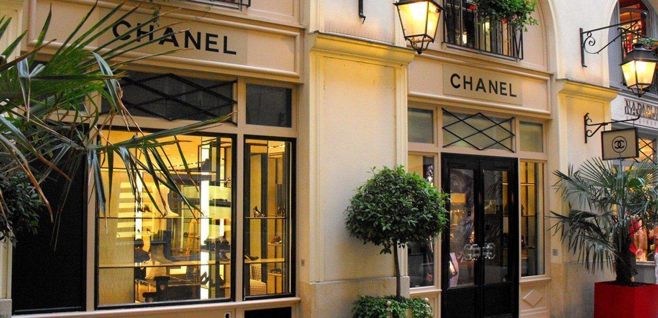 Una tienda de Chanel