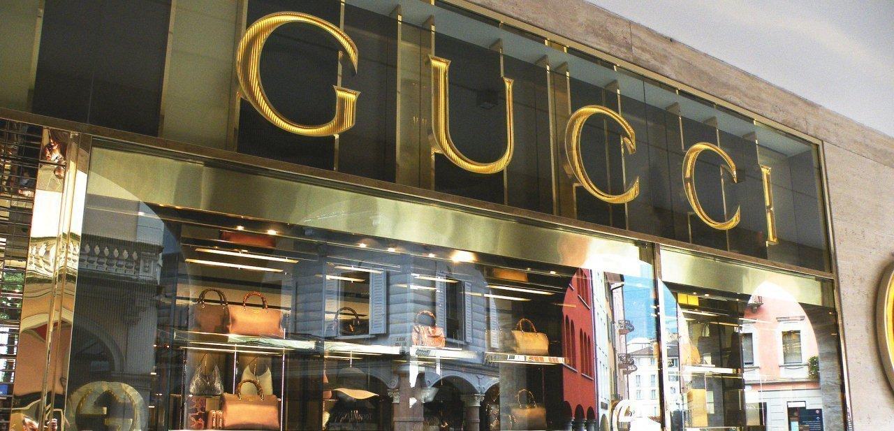 Una tienda de Gucci